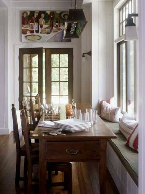 seat cushions for kitchen chairs granite tile countertops 21 suggestions cozy and comfortable sitting area by ...