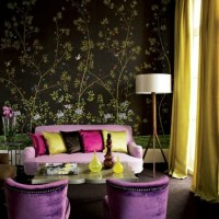 Living Room Colors  22 Decorating Ideas with Black ...