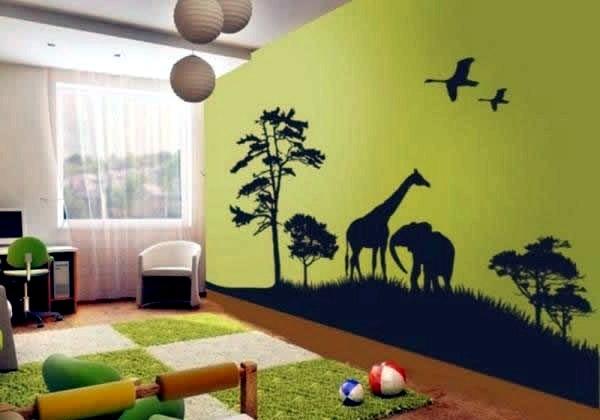 Decorating Ideas For Jungle And Safari Nursery Decor