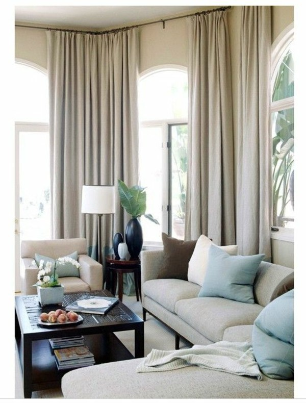 50 modern curtains ideas  practical design window  Interior Design Ideas  AVSOORG