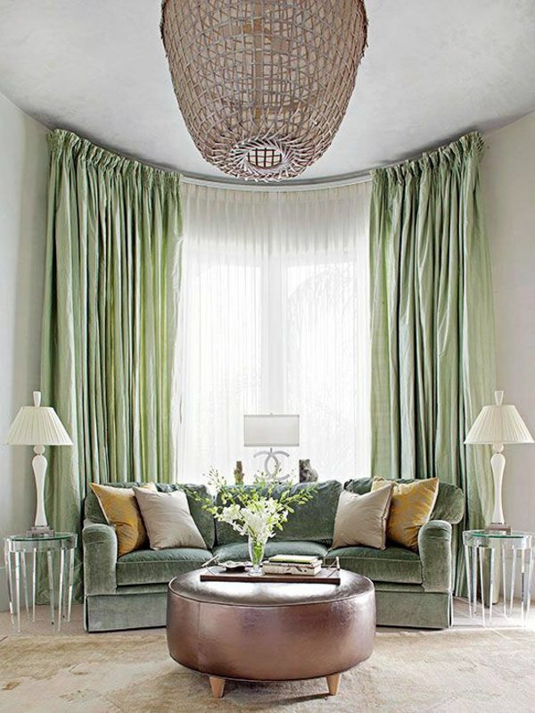 living room curtain ideas for bay windows wall tiles design in india 50 modern curtains – practical window ...