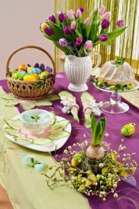 Atmospheric create table decoration for Easter | Interior ...