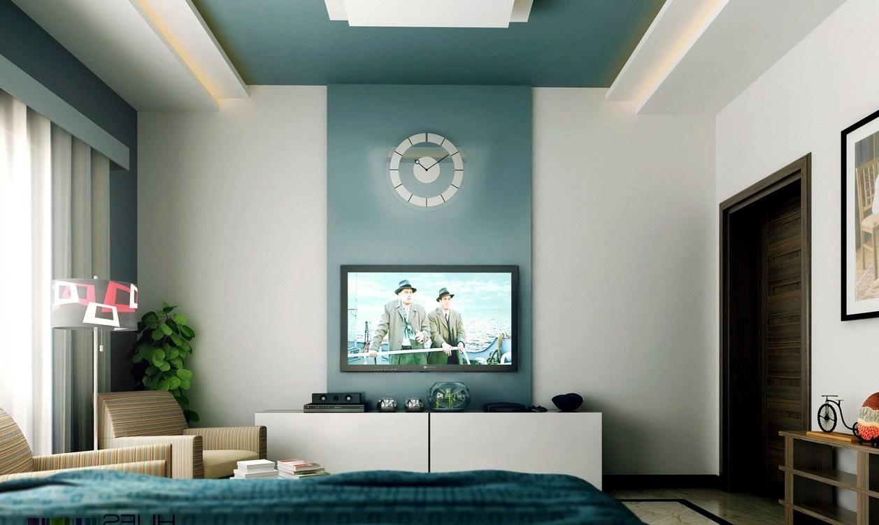 Bedrooms feature walls