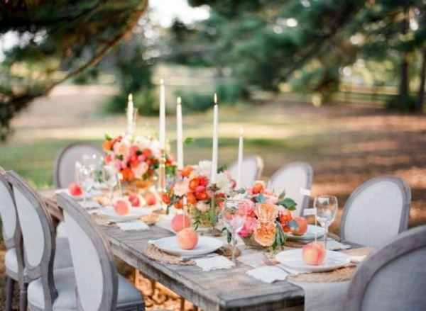 My Wedding Decor in creamy and peach colors  Interior