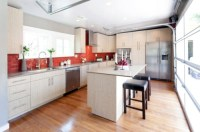 15 gorgeous kitchen ideas for red kitchen back wall ...