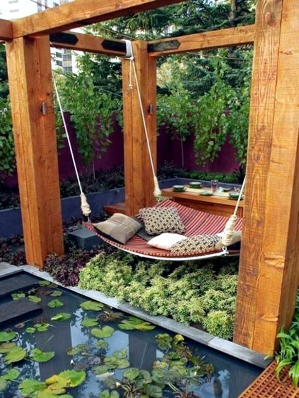 Тerrassenüberdachung Build Yourself – 30 Garden Ideas Interior