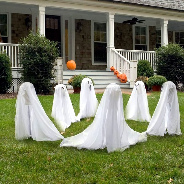 Great Garden Halloween Decorating Ideas Interior Design Ideas