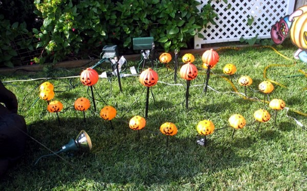 Great Garden Halloween Decorating Ideas Interior Design Ideas