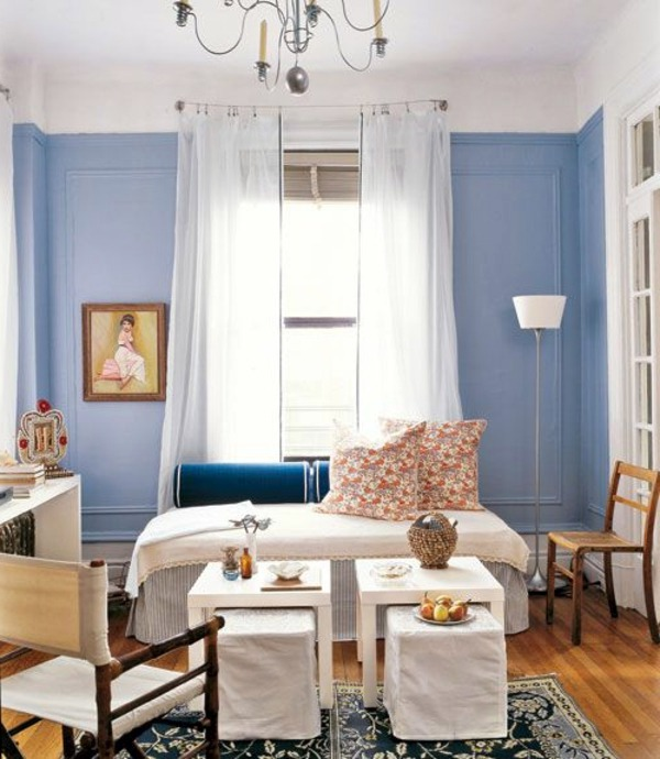 coffee color kitchen cabinets islands with wheels powder blue wall paint – water-colored interior | ...