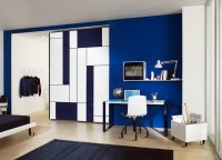 Powder Blue wall paint  water-colored interior   Interior ...