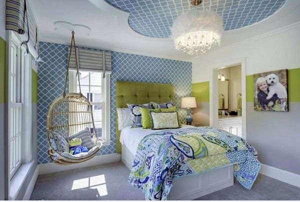 Ravishing rocking chair in the bedroom  15 beautiful home