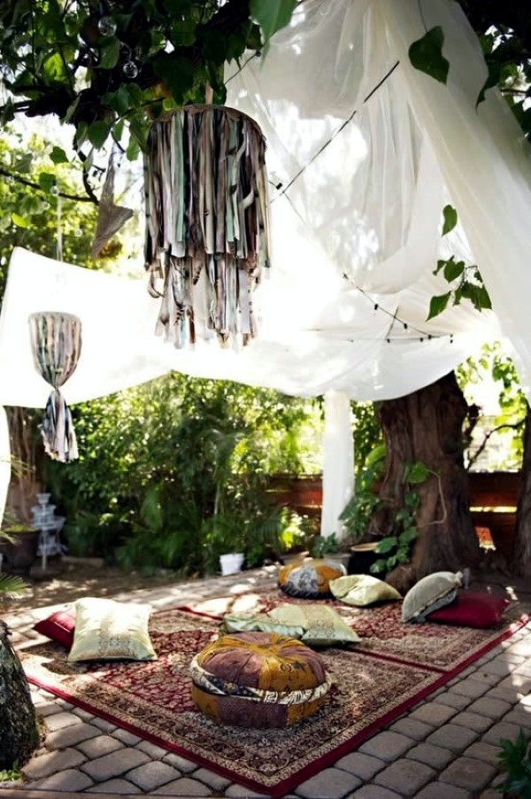 Adorable Boho Chic terrace designs  Interior Design Ideas  AVSOORG