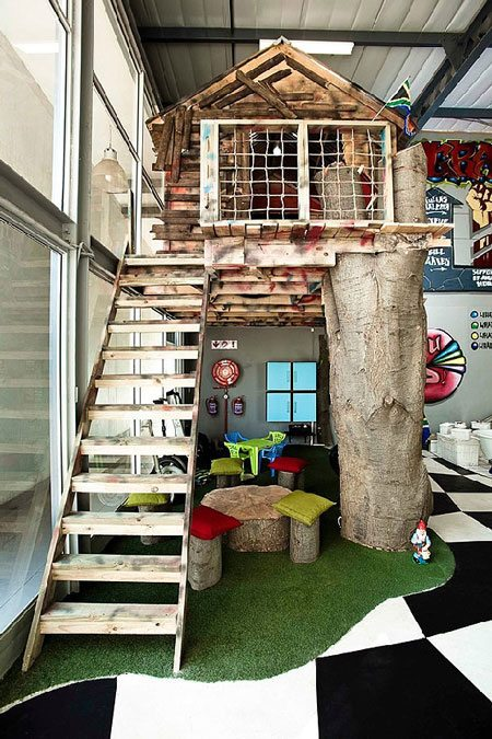 Indoor Tree House – 10 Cool Ideas For Kids Interior Design Ideas