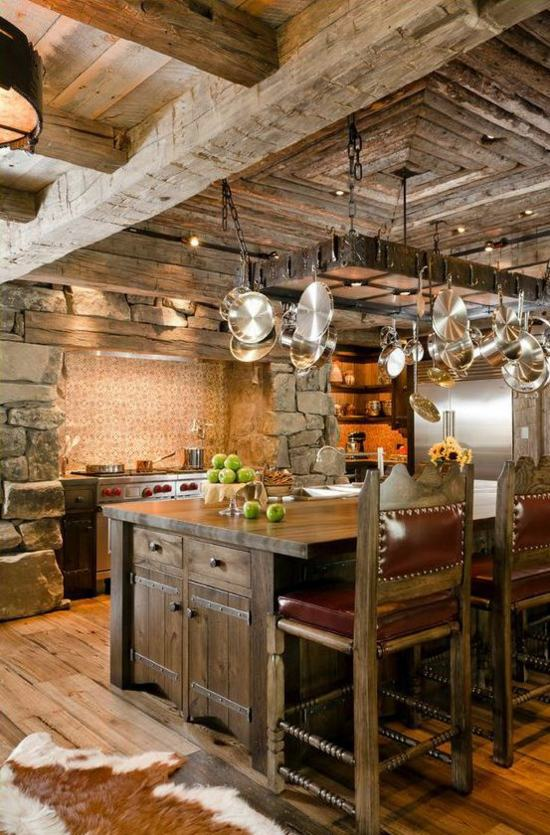 50 modern country house kitchens  kitchen design rustic kitchen furniture  Interior Design