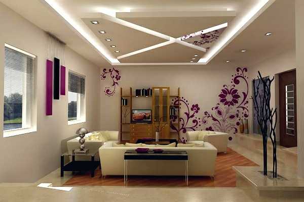 Ceiling design in living room  amazing suspended ceilings  Interior Design Ideas  AVSOORG