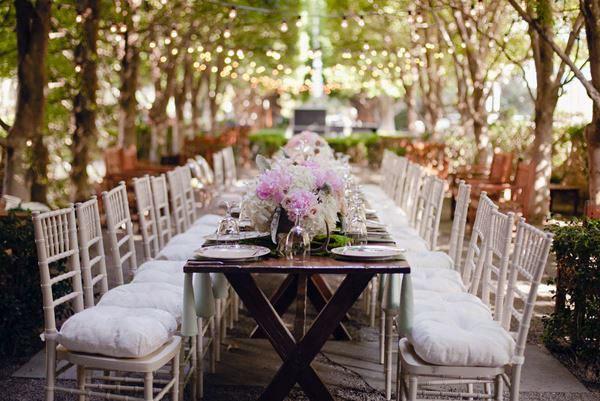 Glamorous Wedding Decoration In The Garden – 10 Inspiring Ideas