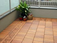 Terrace and balcony wood tiles ideas and other floor ...