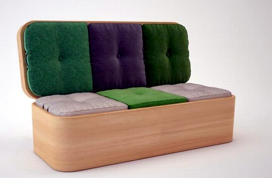 15 convertible furniture for small spaces  Interior