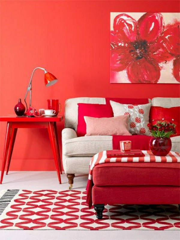 Yellow And Red Living Room Ideas