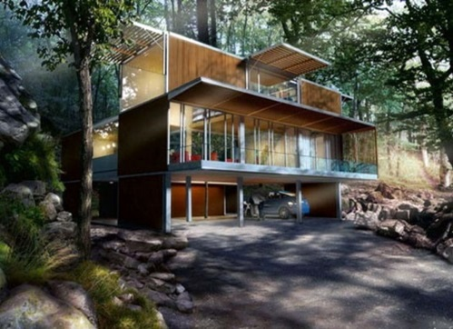 30 inspiring container houses  container shipping Designs  Interior Design Ideas  AVSOORG