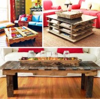 DIY Furniture from Euro pallets  101 craft ideas for wood ...