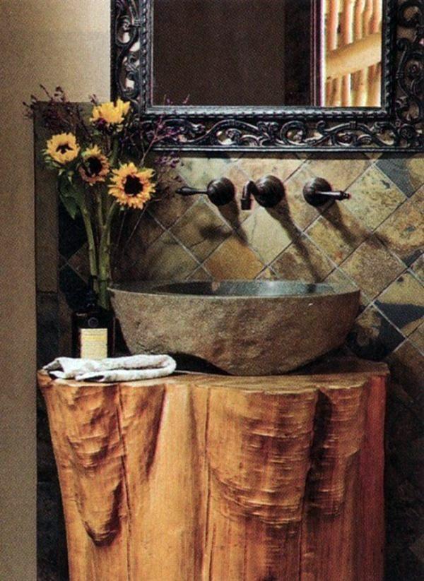 20 creative decorating ideas from tree stump  Interior