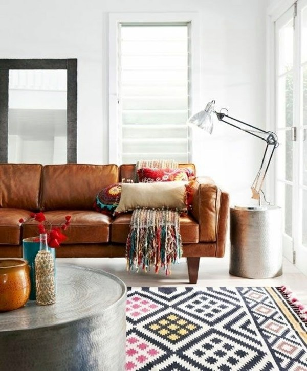 Dye Leather Sofa – Old Leather Furniture Refresh And Invigorate