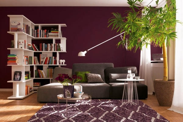 how to decorate a living room and dining combination apartment furniture wall color berry – trendy shades for modern design ...