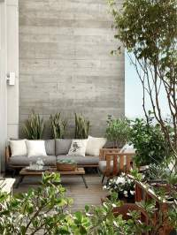 Modern terrace design for your city apartment  three ...