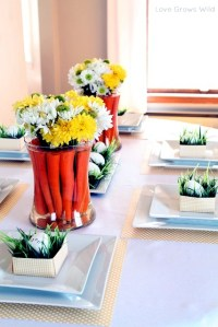 Table decoration for Easter | Interior Design Ideas | AVSO.ORG