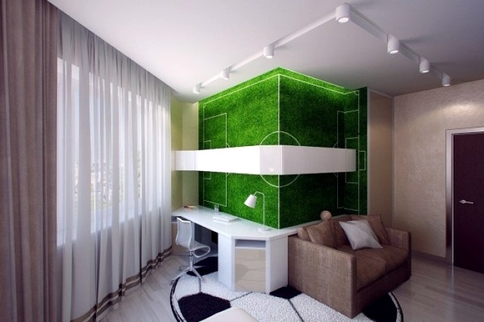 Image result for room decoration for football fan