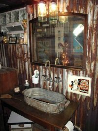 Rustic Bathroom Ideas  Would you set up your bathroom in ...