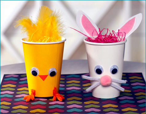 Craft Ideas With Easter Bunnies For Home And Garden Interior