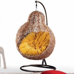 Cool Hanging Chairs Ball Chair For Office Benefits 50 Basket Interior Design Ideas Rattanmobel With Frame