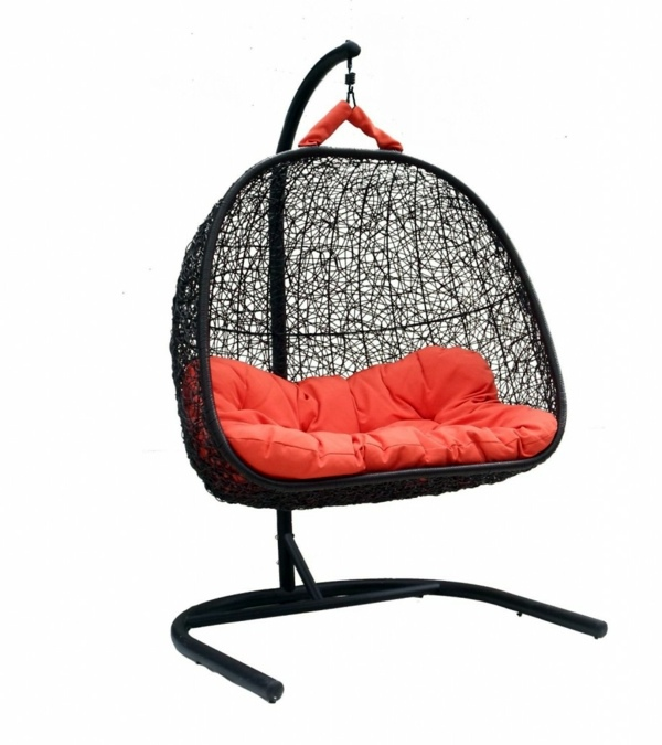 50 basket hanging chair  cool interior design ideas for