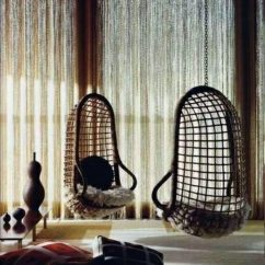 Cool Hanging Chairs Space Saving Kitchen Table And 50 Basket Chair Interior Design Ideas For With Frame