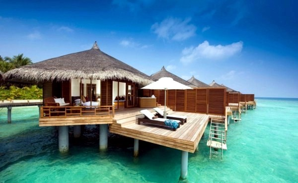 Luxurious Bungalows in the Maldives  Interior Design