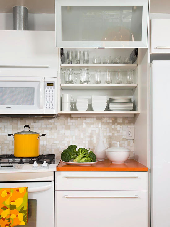 compact kitchens that make the small space look bigger 1 492 Small Kitchen Storage Solutions