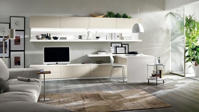 Living room interior design ideas in minimalist style