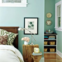 Living Room Wall Color Ideas Oak Side Tables For Mint Green Gives Your A Magical Flair