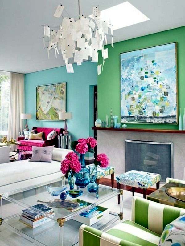 light green colors for living room modern swivel chairs wall color mint gives your a magical flair