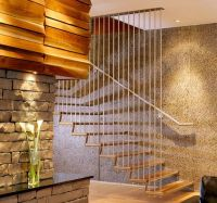 32 Floating staircase ideas for contemporary home ...