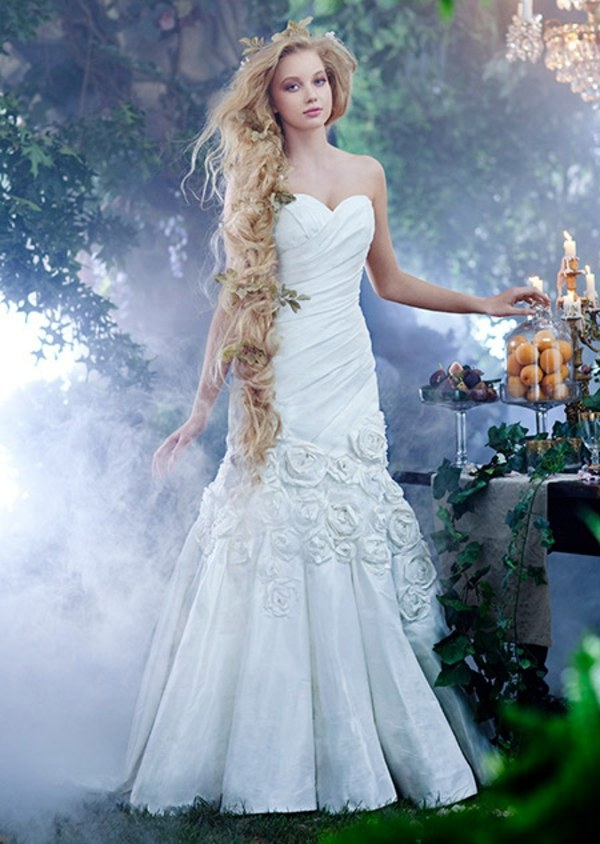 The most beautiful wedding dresses inspired by Disney Princess  Interior Design Ideas  AVSOORG