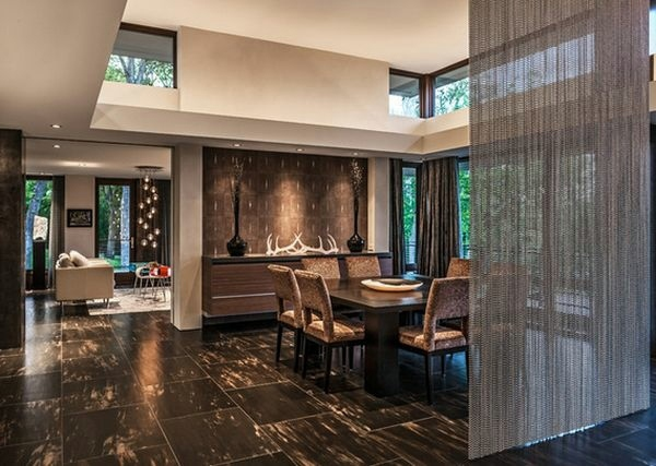 Use curtain room divider  smart home design ideas  Interior Design Ideas  AVSOORG