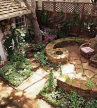 Make stone wall in the garden  creative exterior ...