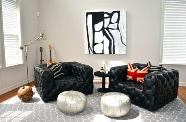 gray leather sofa bed ikea luxury living room set – 70 modern interior design ideas ...