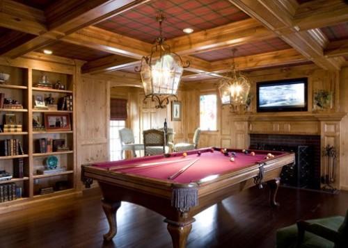 10 billiard room decoration ideas  Game Room for Adults  Interior Design Ideas  AVSOORG