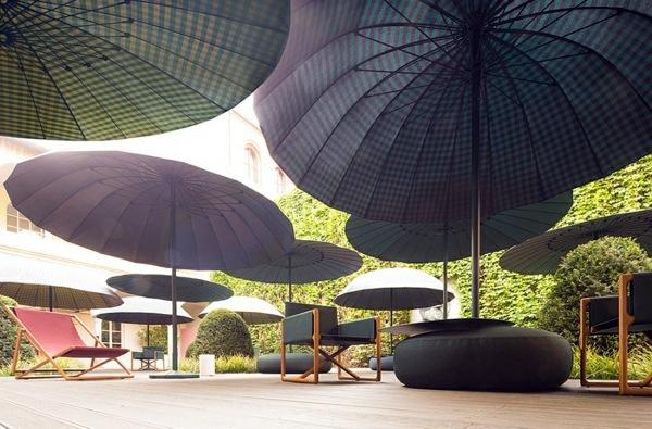 blue sofa decorating ideas bauhaus sofas jardin lounge garden furniture set by paola lenti | interior ...