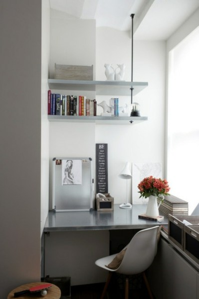 space saving home office idea Space-saving tips for your small home office | Interior Design Ideas | AVSO.ORG