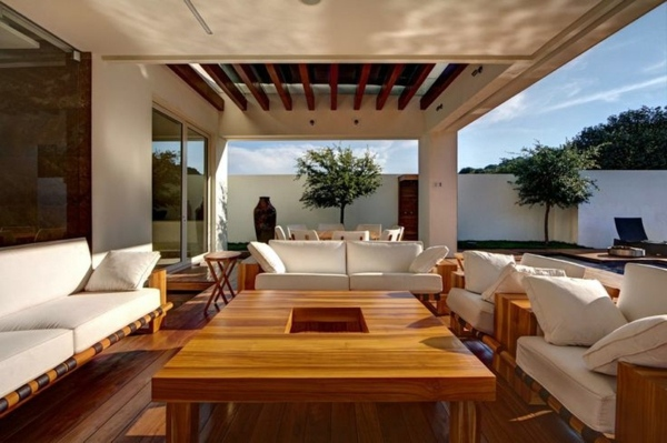 sofa set designs for living room india ergonomic chairs uk covered terrace – 50 ideas patio roof of modern houses ...